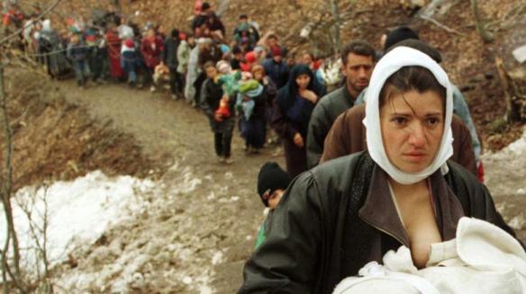 Bildquelle: matiastanea.gr Flüchtlinge aus dem Kosovo 2015