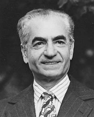 Mohammad Reza Shah Pahlavi, c. 1979. britannica.com