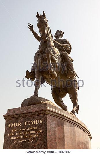statue-of-amir-timur-also-known-as-temur-and-tamerlane-tashkent-uzbekistan-dn7307