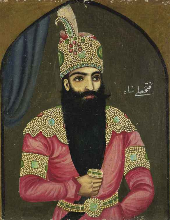 a_portrait_of_fath_ali_shah_qajar_qajar_iran_late_19th_early_20th_cent_d5551234g