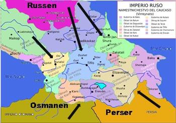 kaukasus-russland-iran