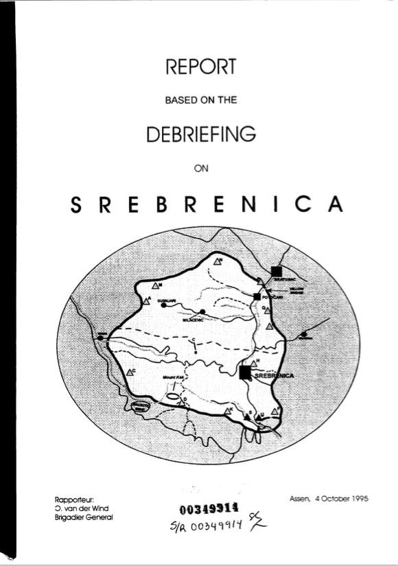 Srebrenica Debriefing